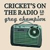Just out 3/'15: CRICKET'S ON THE RADIO  E.P.